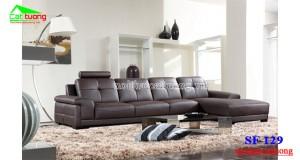 sofa da hiện đại SF129