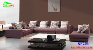 sofa nỉ SF203