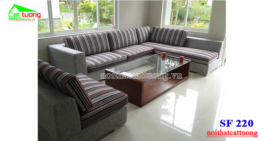 sofa nỉ SF220