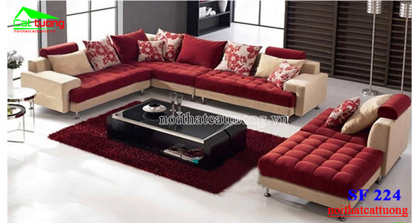 sofa nỉ SF224