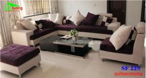 sofa nỉ giá tốt SF225