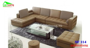 Sofa da cao cấp SF114