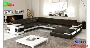 sofa da cao cấp SF117