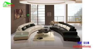 sofa da cao cấp SF118