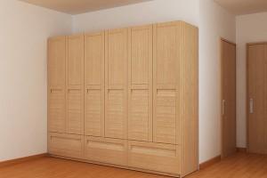 Tủ áo đẹp gỗ sồi nga n510