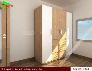 Tủ quần áo gỗ công ngiệp N565