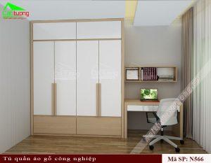 Tủ quần áo gỗ công nghiệp N566