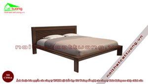 Giường ngủ gỗ tự nhiên CT501