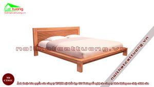 Giường ngủ gỗ Đinh Hương CT502
