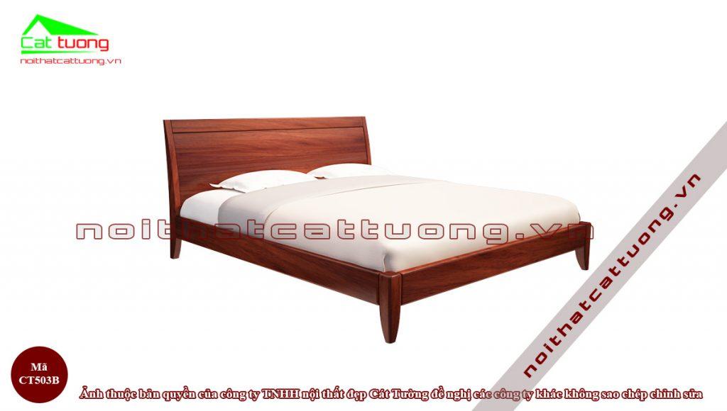 giường ngủ gỗ Gõ Đỏ CT503
