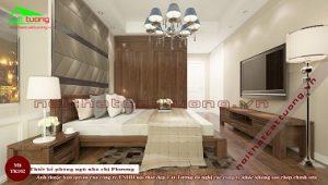 phòng ngủ gỗ óc chó TK102