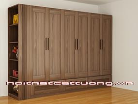 Tủ quần áo gỗ óc chó CT512