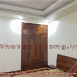 Thi công nội thất gỗ óc chó Nam Định