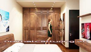 Nội thất gỗ óc chó tk126b