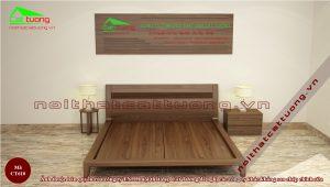 Mẫu giường ngủ bằng gỗ đẹp n3