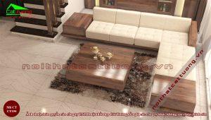 Giá sofa gỗ óc chó