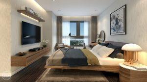 Phòng ngủ chung cư đẹp 1
