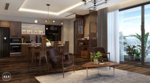 Thiết kế nội thất gia đình hiện đại