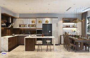 Thiết kế nội thất gia đình tinh tế