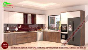 Thiết kế nội thất gia đình nhã nhặn