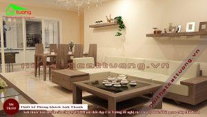 Thiết kế nội thất chung cư 45m2 4