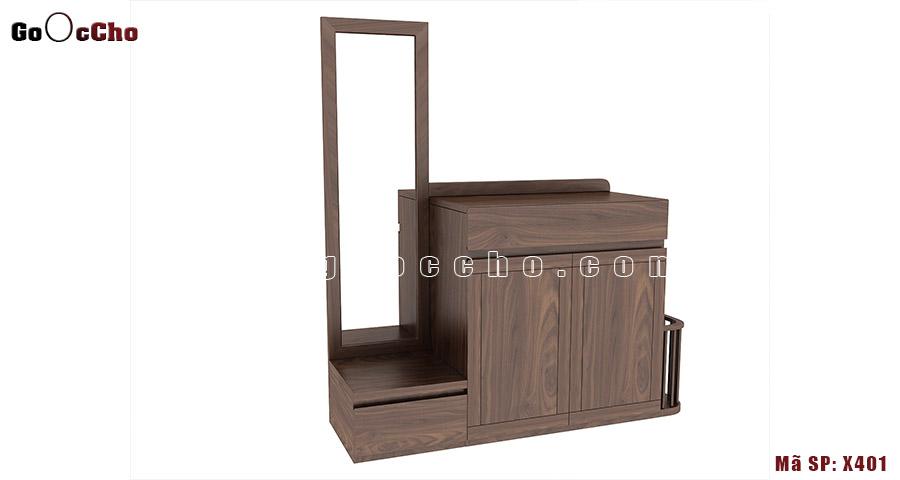 Tủ giầy gỗ óc chó 13