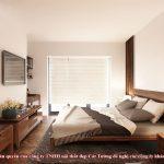 Giường ngủ gỗ óc chó ct625