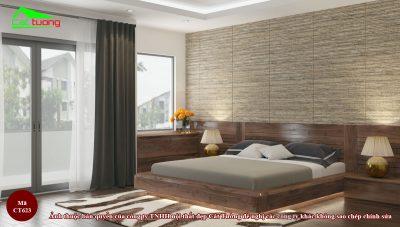 Giường ngủ gỗ óc chó CT623 n1