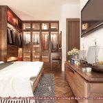 tủ quần áo gỗ óc chó CT527 n3