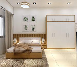 Phòng ngủ đẹp cho nữ 4