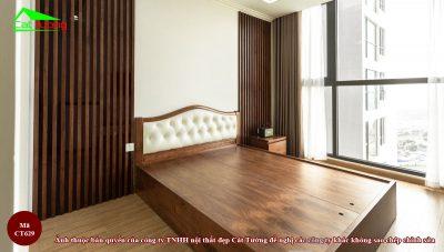 Giường ngủ gỗ óc chó ct629 1