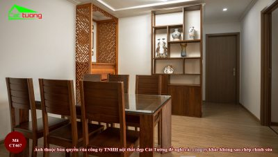 Tủ trang trí gỗ óc chó ct467 1