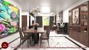 Thiết kế nội thất gỗ óc chó TK132 n3