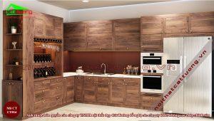 Chiều cao tủ bếp 1
