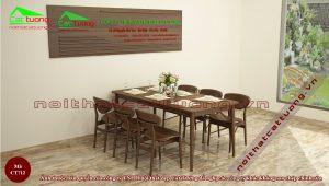 Kích thước bàn ghế ăn tiêu chuẩn theo phong thủy