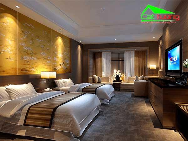 Chuyên thi công nội thất khách sạn 4