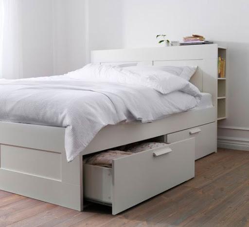 Giường ngủ 1m2 tiết kiệm chi phí