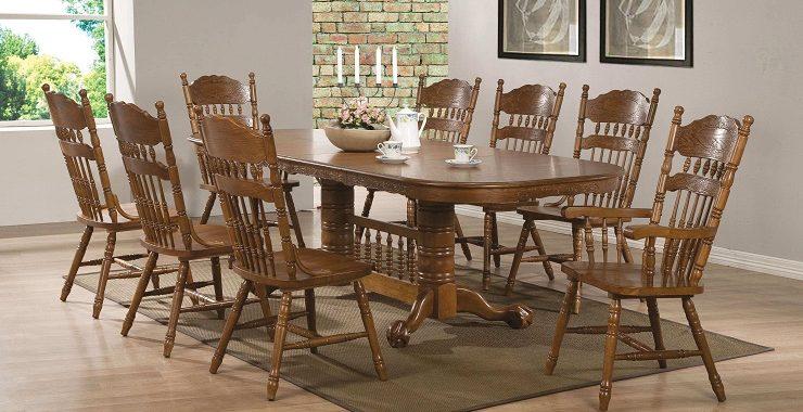 Kích thước bàn ăn 10 người thiết kế độc đáo
