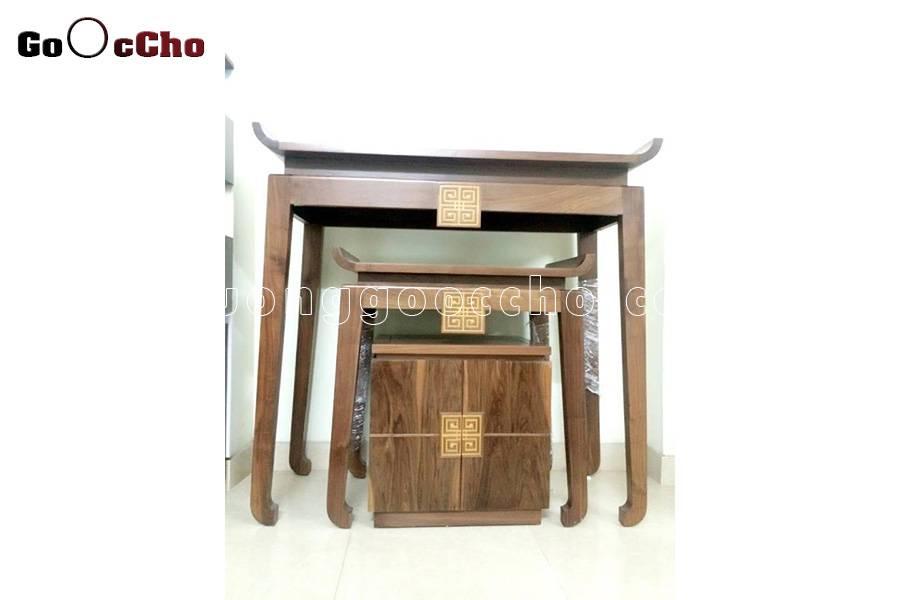 Kích thước bàn thờ 3 tầng cao cấp
