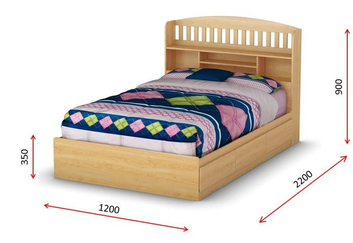 Kích thước giường ngủ trẻ em nhỏ