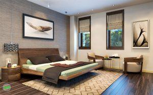 Thiết kế phòng ngủ khách sạn sang trọng