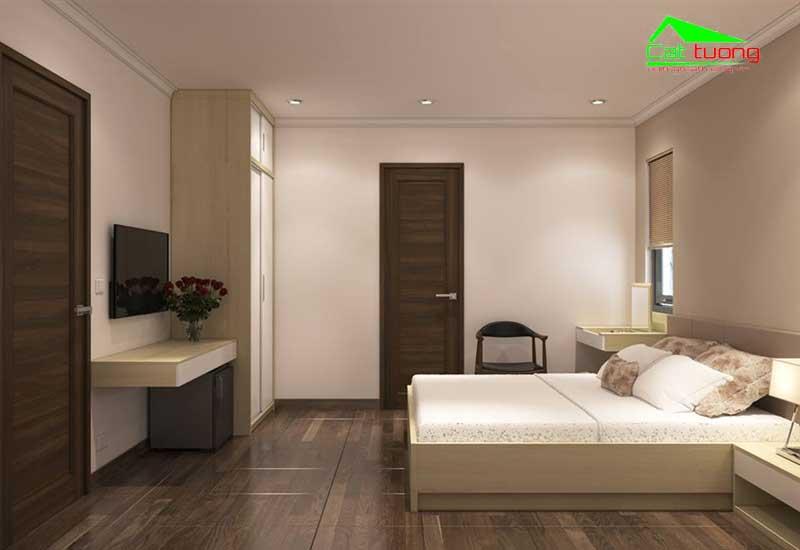 Thiết kế nội thất khách sạn mini 1