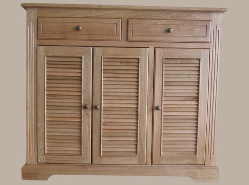 Tủ giày gỗ Sồi đơn giản
