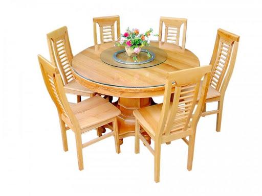 bàn ăn xoay