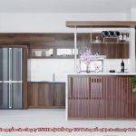 Tủ bếp gỗ óc chó CT822