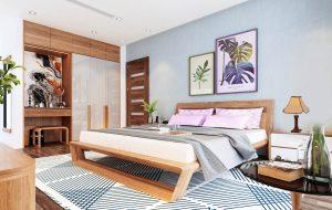 Thiết kế phòng ngủ Vinhomes Cầu Rào 2