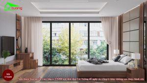 Táp đầu giường gỗ óc chó CTA00 b