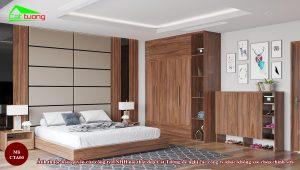Táp đầu giường gỗ óc chó CTA00 c