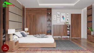 Táp đầu giường gỗ óc chó CTA00 d