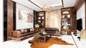 Thiết kế nội thất chung cư vinhome 9